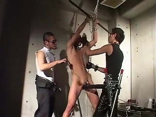 crazy asian gay boys incredible spanking