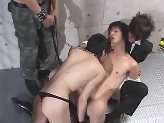 capture cute japanese gay street slave
