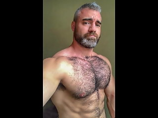 hairy chest belly
