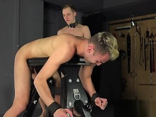 hung daddy turns straight twink bareback