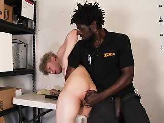 youngperps hung black security guard fucks