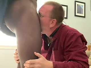 younger daddy sucking black cock amp