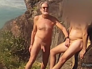 stranger touches nude beach first gay