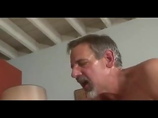 grey beard dad jay taylor kiss