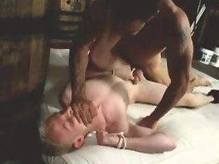 monsterhung dad barebacks bound slave