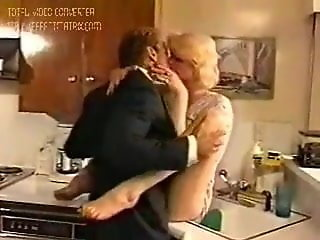 shemale tranny wife fucked husband kitchen