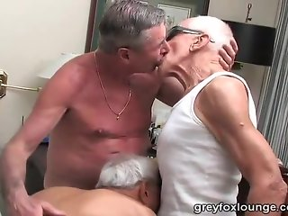 grand-dad threesome