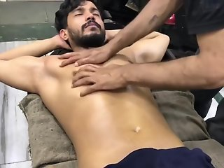 indian massage part