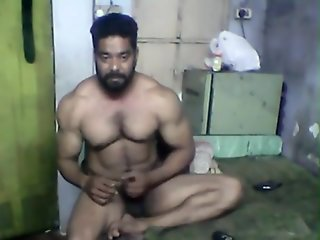 cum muscle indian