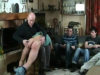 french arab thugs spanked otk