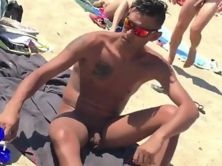 cocks nudist beach