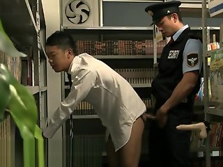 gay asian japanese sex library security