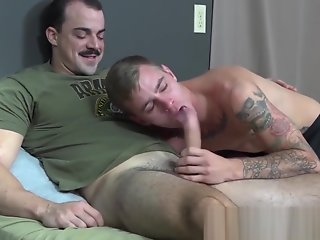 hunky soldier alex james raw fucks
