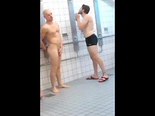 spy gym showers