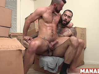 manalized brendan patrick fed jizz bottoming