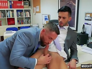 muscle gay anal sex cumshot