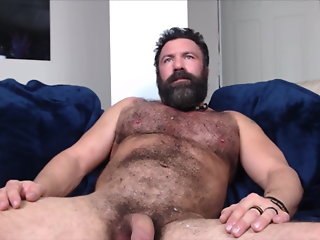 bearded muscle horny hole load