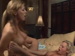mature woman seduces busty girl